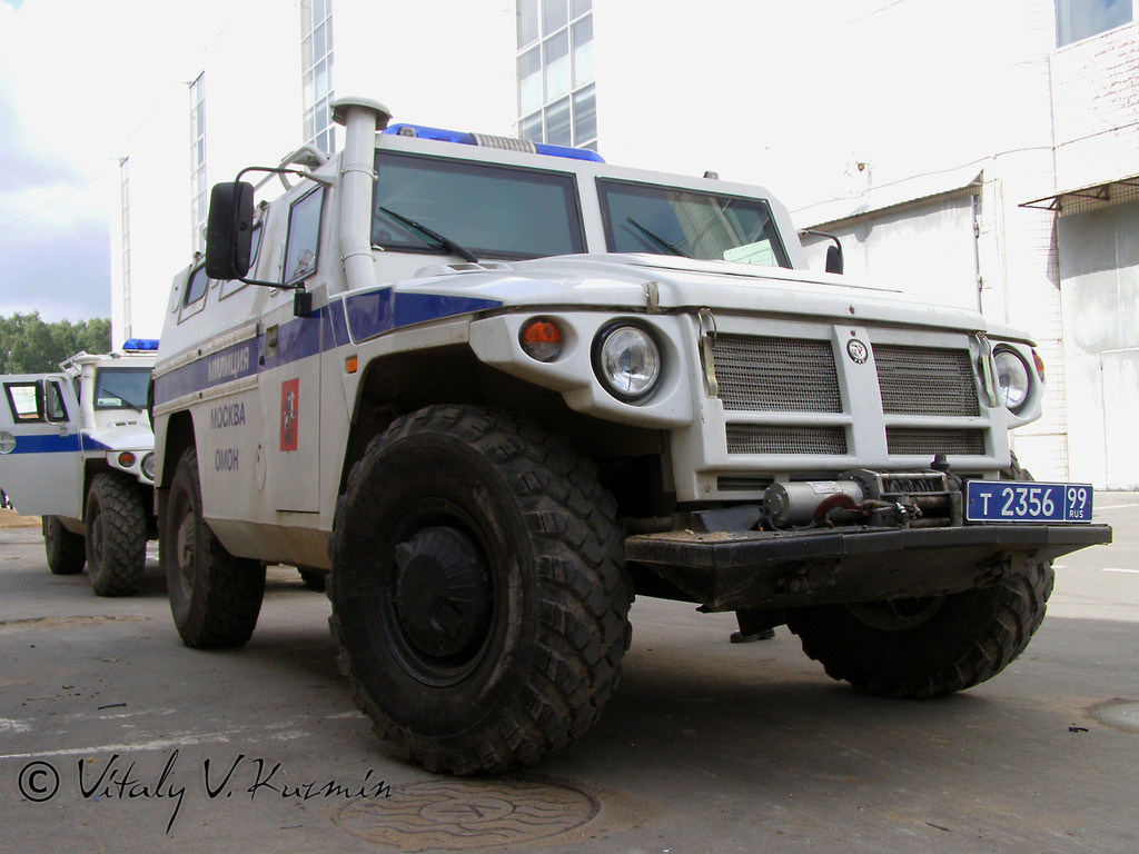 Специальная полицейская машина СПМ-2 на …