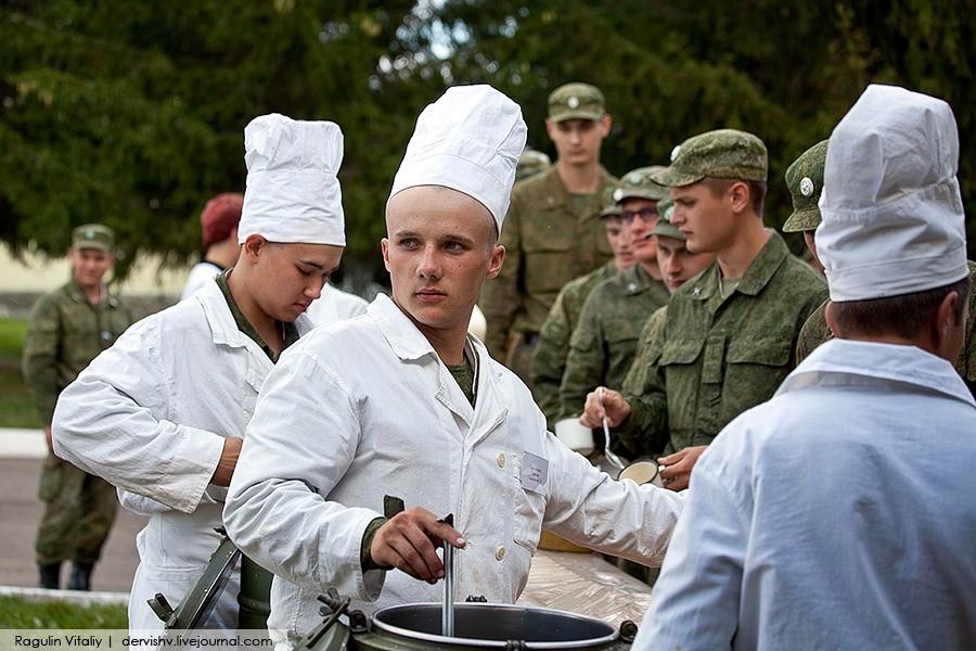Конкурс военных поваров
